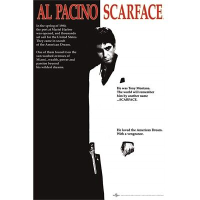 Scarface (one-sheet) - Movie Poster New Score Al Pacino
