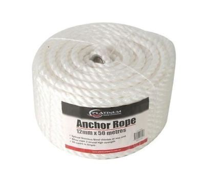 Platinum Anchor Rope - 50m / Boat Accessories