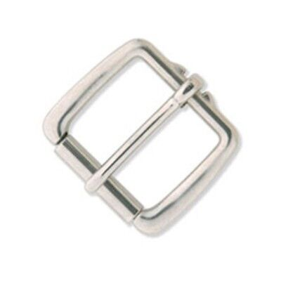 """Tandy Leather Heavy Duty Roller Buckle 1-1/2"""" (38 Mm) Stainless Steel 1525-00 -"""