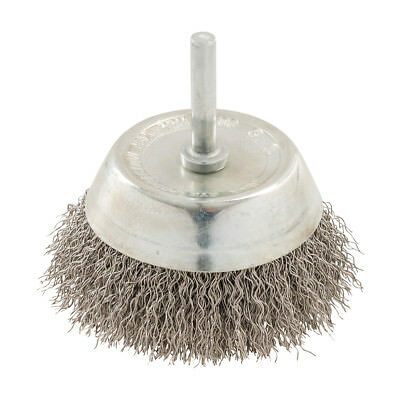 Genuine Silverline Rotary Stainless Steel Wire Cup Brush 75mm | 409596