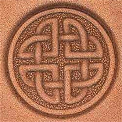 Tandy Leather Round Celtic Craftool 3-d Stamp 8537-00 - 3d 853700