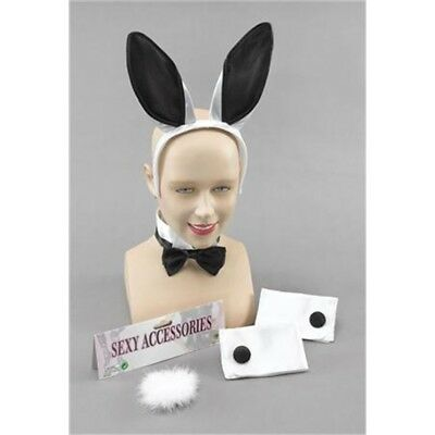 stag Party Fancy Dress Easter Bunny Girl Rabbit 3 /& 5 Pieces Ear Set Hen Night