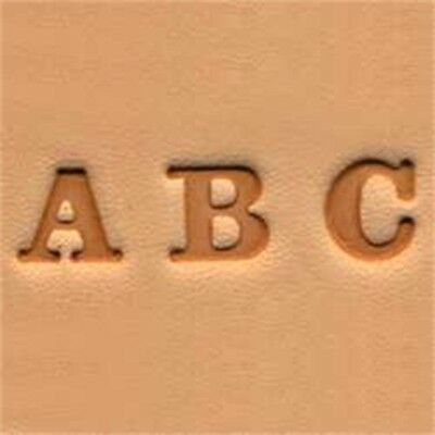 Alphabet Leather Stamp Set - Factory Series 490301 Easy Do 14 Setelegant 25