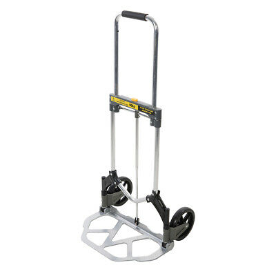 Genuine Silverline Aluminium Folding Hand Truck 90kg | 689610