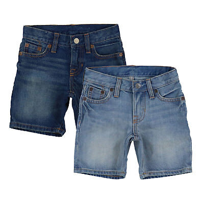 Polo By Ralph Lauren Jean Shorts Boys Denim Kids Toddlers Bottoms Prl Nwt New
