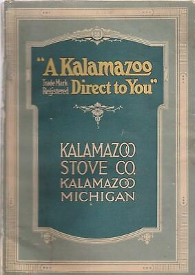 """Kalamazoo Stove Co. 1917 Catalog-""""the Largest Stove Factory In The World"""""""