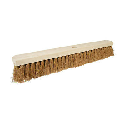 "Genuine Silverline Broom Soft Coco 610mm (24"") 