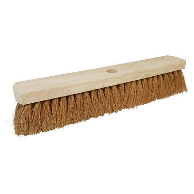 "Genuine Silverline Broom Soft Coco 457mm (18"") 