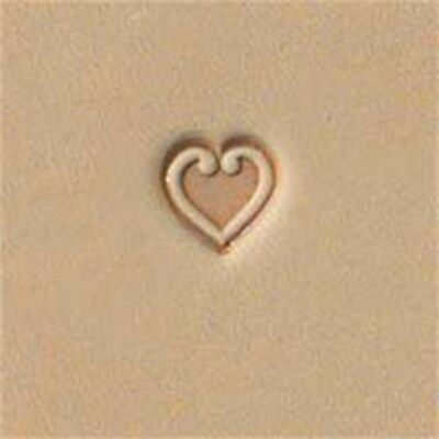 O85 Decorative Heart Leather Stamp - Craftool 6808500