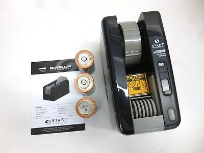 New!! Start International Electric Tape Dispenser, W/ 3 Presets, Zcm0800-Wt