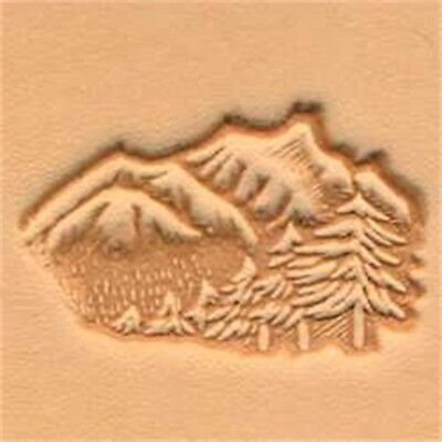 Mountain & Trees 3d Leather Stamping Tool - Craf Stamp Mountains 8832400