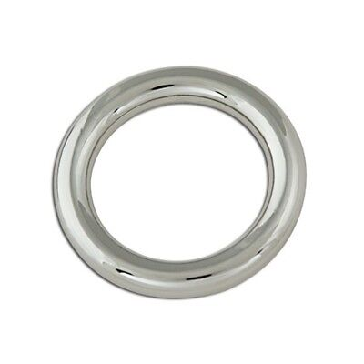 """1"""" Nickel Plated O-ring For Bags - 1"""" Plate Tandy Leather Craft 11416-01 Belt"""