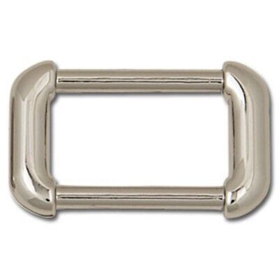 """1"""" Nickel Plated Rounded Arch Bag Strap Ring - 1 Purse Attachment Tandy"""