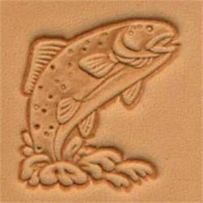 Trout 3d Leather Stamping Tool - Craf Stamp 8834500