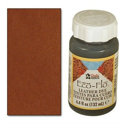 4oz Canyon Tan Eco Leather Dye - Flo Colour Leathercraft Tandy 260006