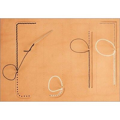 Leathercraft Stitching Guide - Craftaid Tandy Leather Craft 76633-00 Template