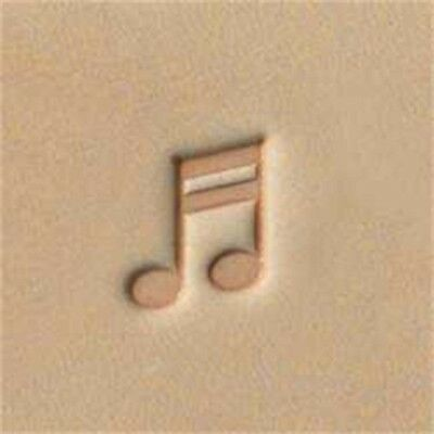E572 Musical Note Leather Stamp - Craftool Tandy Craft 66572-00 Decorate