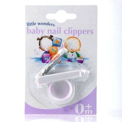 Little Wonders Baby Nail Clippers - Babyway Finger Ring Shaped 4 Newborn