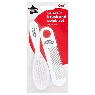 Tommee Tippee Essentials Brush & Comb - Set Basics Essential Baby