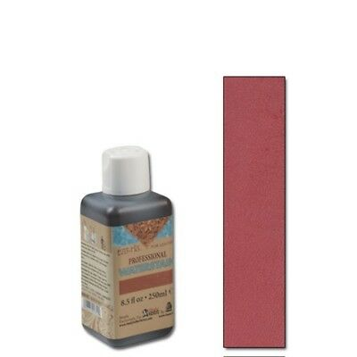 250ml Crimson Eco Leather Water Stain - Flo Professional 85oz Tandy