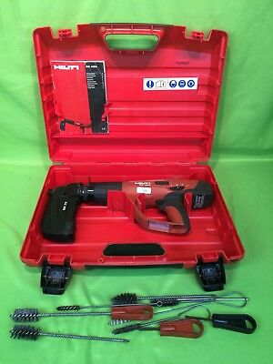 Nice HILTI DX460 POWDER ACTUATED TOOL w/ MX72 Mag, Case & Manual! NO RESERVE!