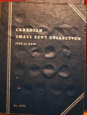 Canadian Small Cent Collection Book