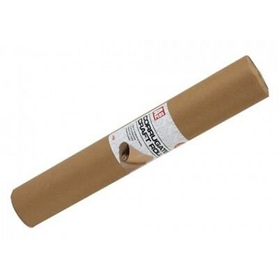 2mx 40cm Corrugated Craft Roll - Corregated Brown Paper Packaging Wrapping Arts