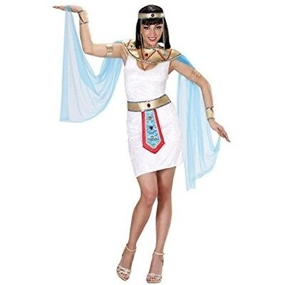 Ladies Egyptian Queen Costume Extra Large Uk 18-20 For Ancient Egypt Fancy