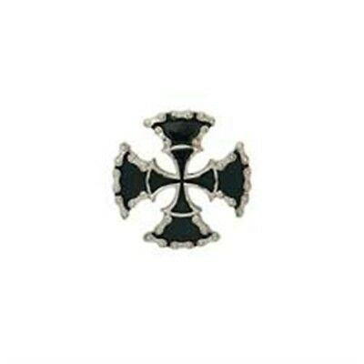 Double Cross Concho Screwback Leathercraft Design Accent Tandy Leather 71502-07