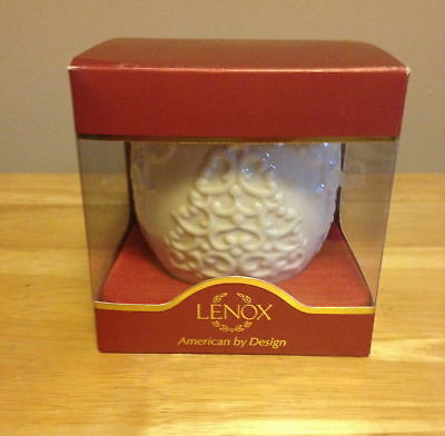 """LENOX  """"Merry Lights""""  Christmas Tree Votive Candle Holder NEW IN BOX !!!"""