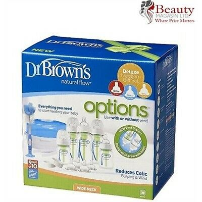 Dr Brown's Options Bottle & Steriliser Gift Set - Browns Newborn