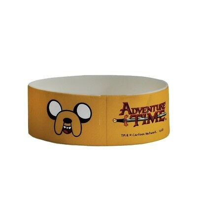 Adventure Time Silicone Wristband - Jake Official Rubber Jake Rubber Accessory