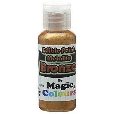 Magic Colours Edible Metallic Bronze - Paint 32g