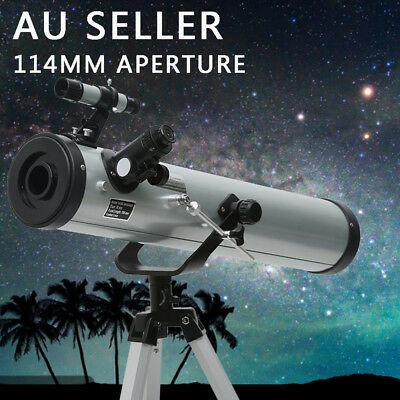 Astronomical Telescope 114mm Aperture 525x Zoom HD High Resolution Night Vision