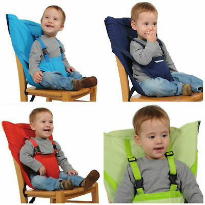 US Portable Infants Baby High Chair Feeding Seat Belt Infant Travel Sacking Seat