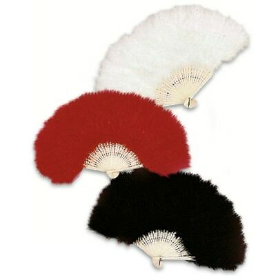 Feather Fan Ostrich 50cm Assorted - Mask Party Favor