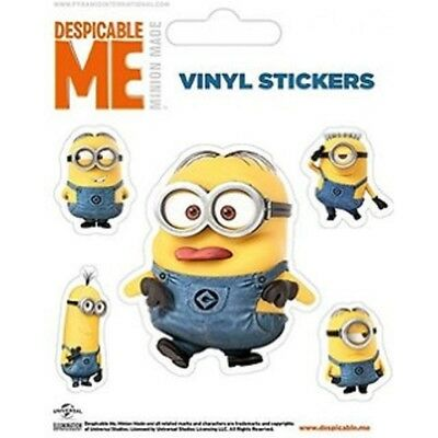 Despicable Me (minions Doing) - Minions Sticker 5 Vinyl Packs Doing Stickers Set
