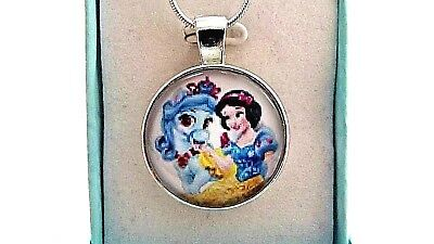 NEW  SNOW WHITE   PRINCESS  NECKLACE STRONG  AGE 3,4,5,6,7,8 YEAR GIFT BOX party