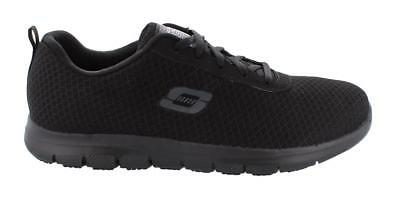 Skechers Ghenter Bronaugh Lace Up  Shoes Womens Work And Uniform Shoes