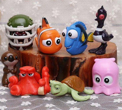 Movie Finding Nemo Dory PVC Action Figures Toy Cartoon Doll Cake Toppers Gift UK