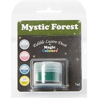 Magic Colours Edible Lustre Dust Mystic Forest - 7ml