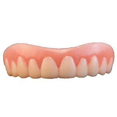 Teeth Instant Smile Medium - Cosmetic Fake False Secure Size Novelty Fits Most