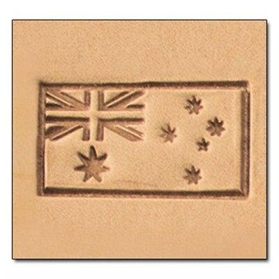 Australian Flag 3d Leather Stamping Tool - Craf Imprint