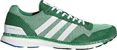 low priced ab74c 5bf61 adidas Adizero Adios 3 Boost Mens Running Shoes - Green