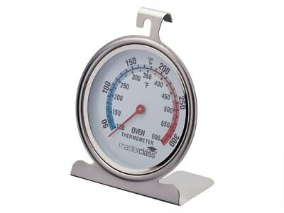 MASTER CLASS Oven Thermometer Stainless Steel MCOVENSS - £10.13 ... af6fc87049da5
