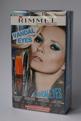Rimmel London - Vandal Eyes Set Ovp - 4 Produkte '#82-7-2