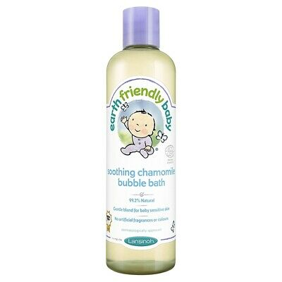 300ml Earth Friendly Baby Calming Lavender Bubble Bath - Packs 2 6 1 Lansinoh 12