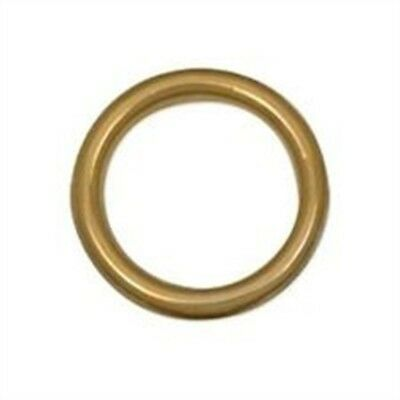 """Tandy Leather Cast Ring 1-1/4"""" (31.7 Mm) Solid Brass 1179-03 - Sb"""