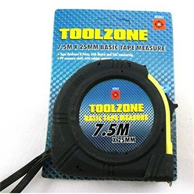 Toolzone 7.5m Basic Tape Measure - 75m
