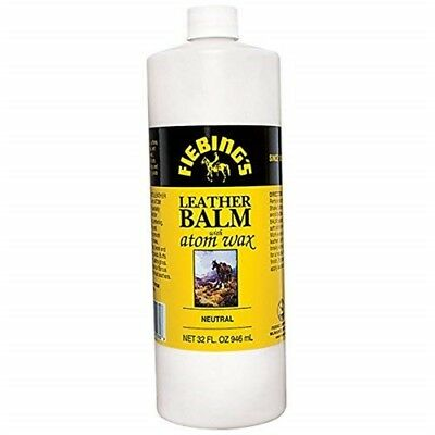 Leather Balm W/atom Wax Neutrl